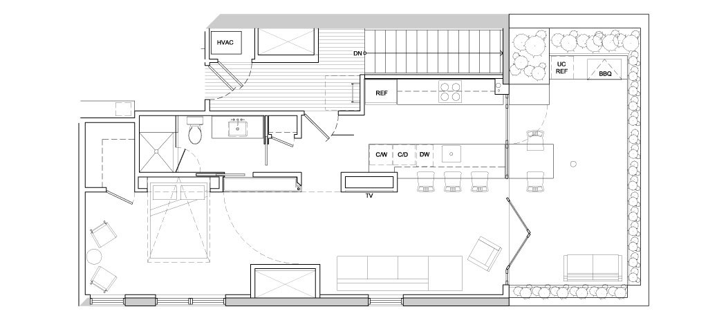 Urban Loft - Floor Plan