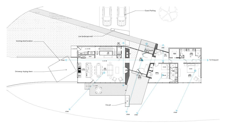 Mountain Retreat   Ground Floor Plan
